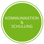 Button Kommunikation & Schulung